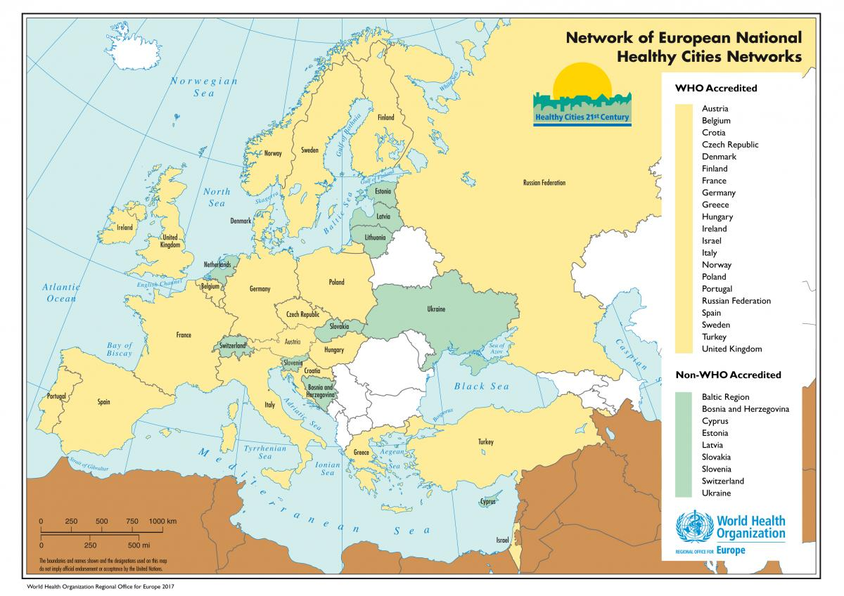 WHO European National Networks